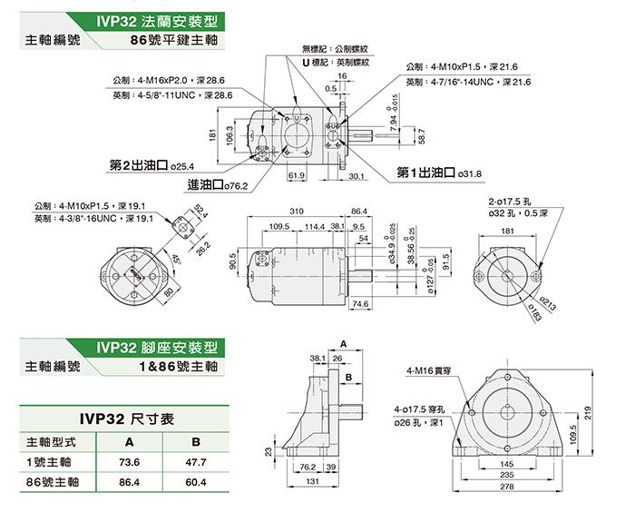 IVP32双联泵