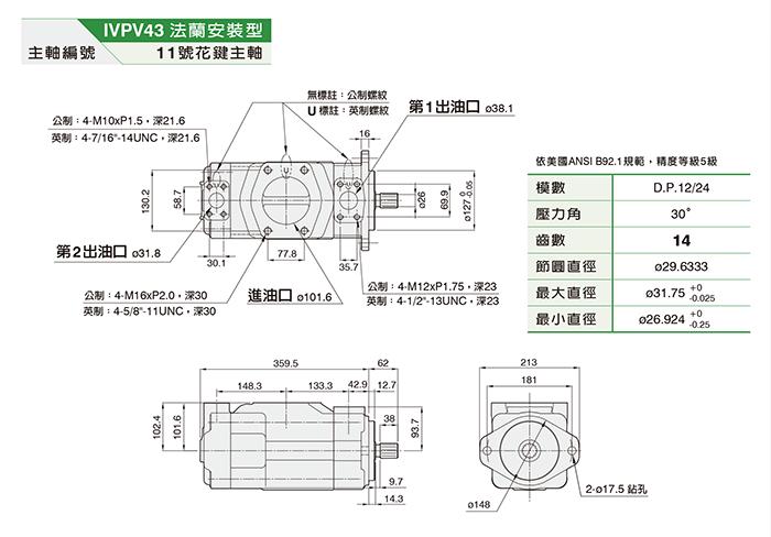 IVPV43双联泵