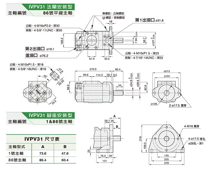 IVPV31双联泵