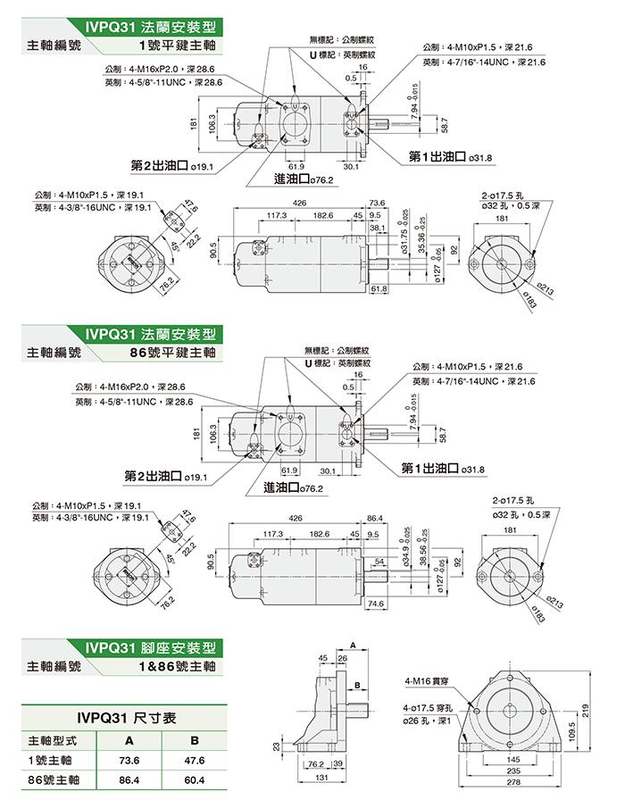 IVPQ31双联泵